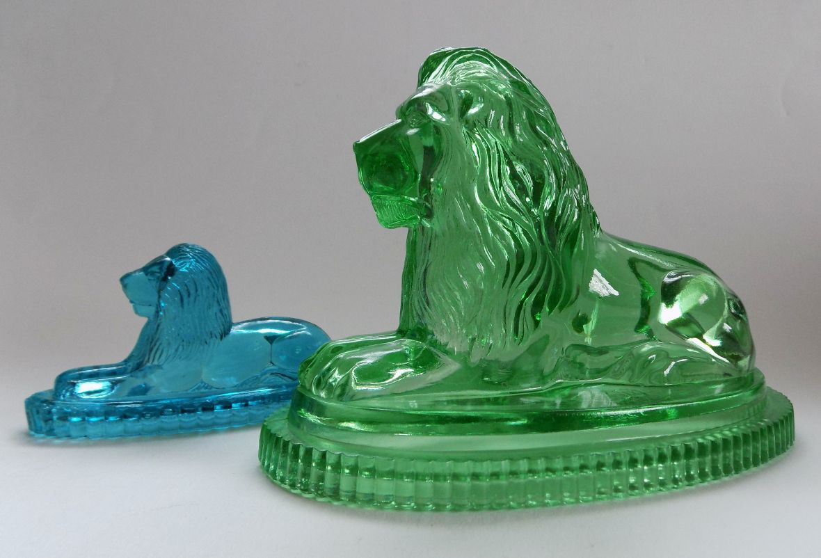 Glass lions 003